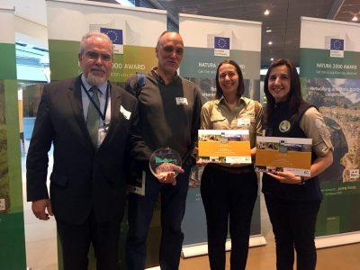 School of Nature wins the European Citizen's Natura 2000 Award