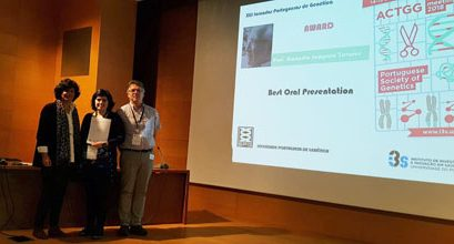 Best oral presentation in the XLII Portuguese Genetics Conference