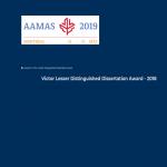 Victor Lesser Dissertation award 2018