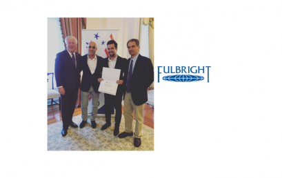 Francisco Carvalho won a Fulbright grant