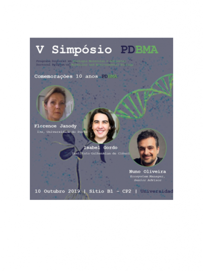 V Symposium of the Doctoral Program on Molecular and Environmental Biology