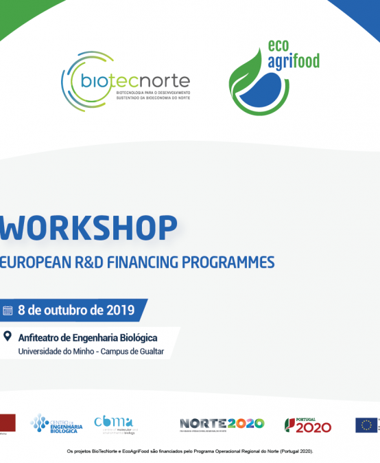 Workshop European R&D Financing Programmes