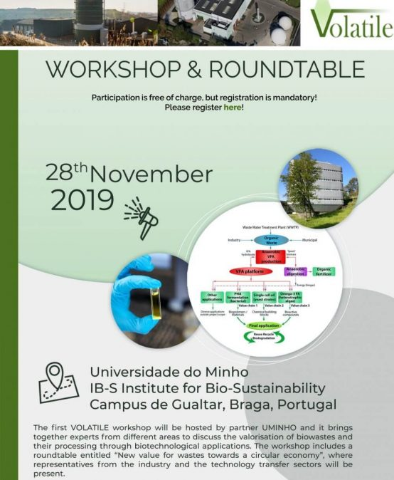 VOLATILE Workshop and Roundtable
