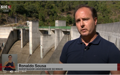 Interview with CBMA researcher Ronaldo Sousa on SIC Notícias television channel.