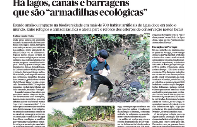 """Poor planning and management of dams and canals is """"fatal to many species""""."""