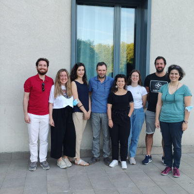 Researchers and Students from CBMA participate in an agroecology event in Italy