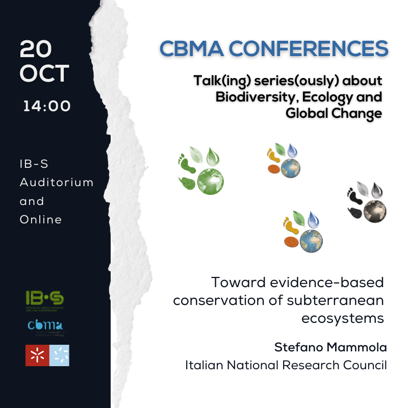 CBMA Conferences – Stefano Mammola  (Italian National Research Council)